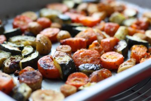 légumes au four
